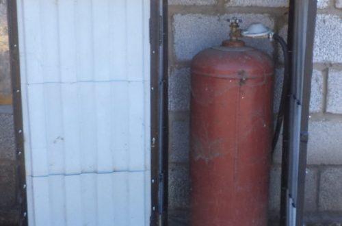 ящик для газового баллона